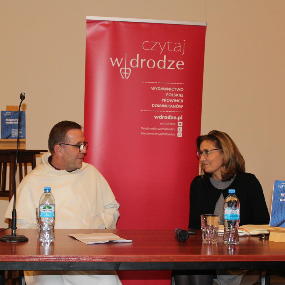 Maciej Soszyński OP i Katarzyna Kolska