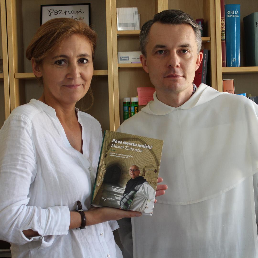 Spotkanie z Katarzyną Kolską i Romanem Bieleckim OP w Szczecinku