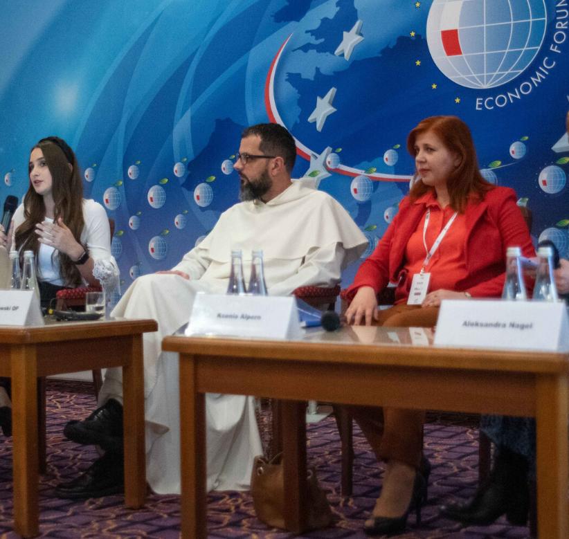 Prezes Tomasz Grabowski OP na Forum Ekonomicznym