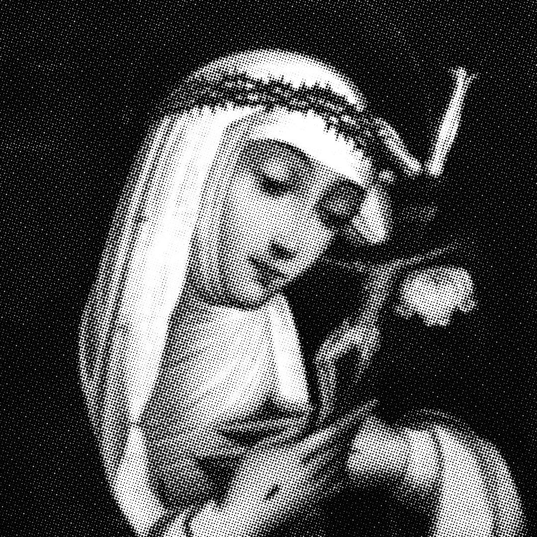 Obrazek św. Katarzyny ze Sieny