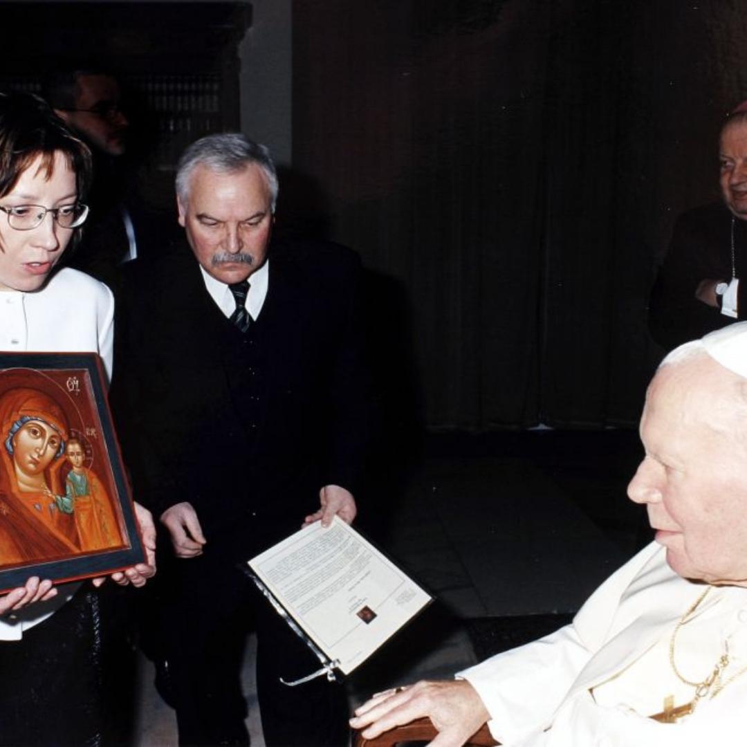 Żeby papieżowi nie było smutno