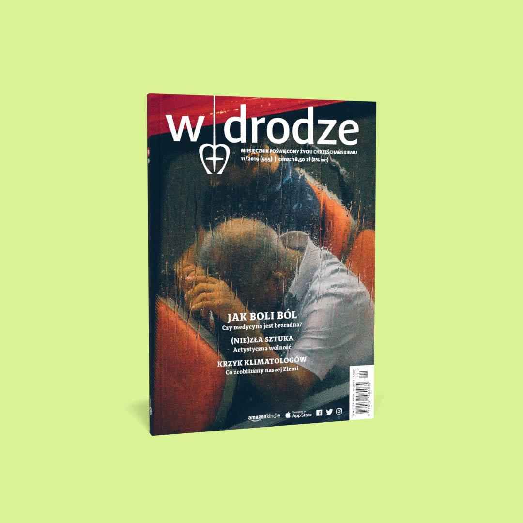 """Listopadowy miesięcznik """"W drodze"""" poleca się do czytania"""