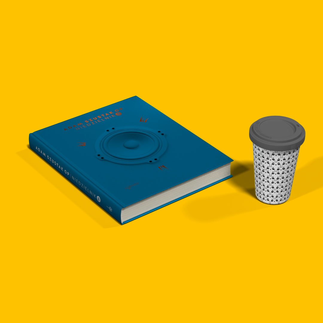 Pakiet: Niedzielnik B. Komentarze do czytań + kubek z silikonowym zamknięciem