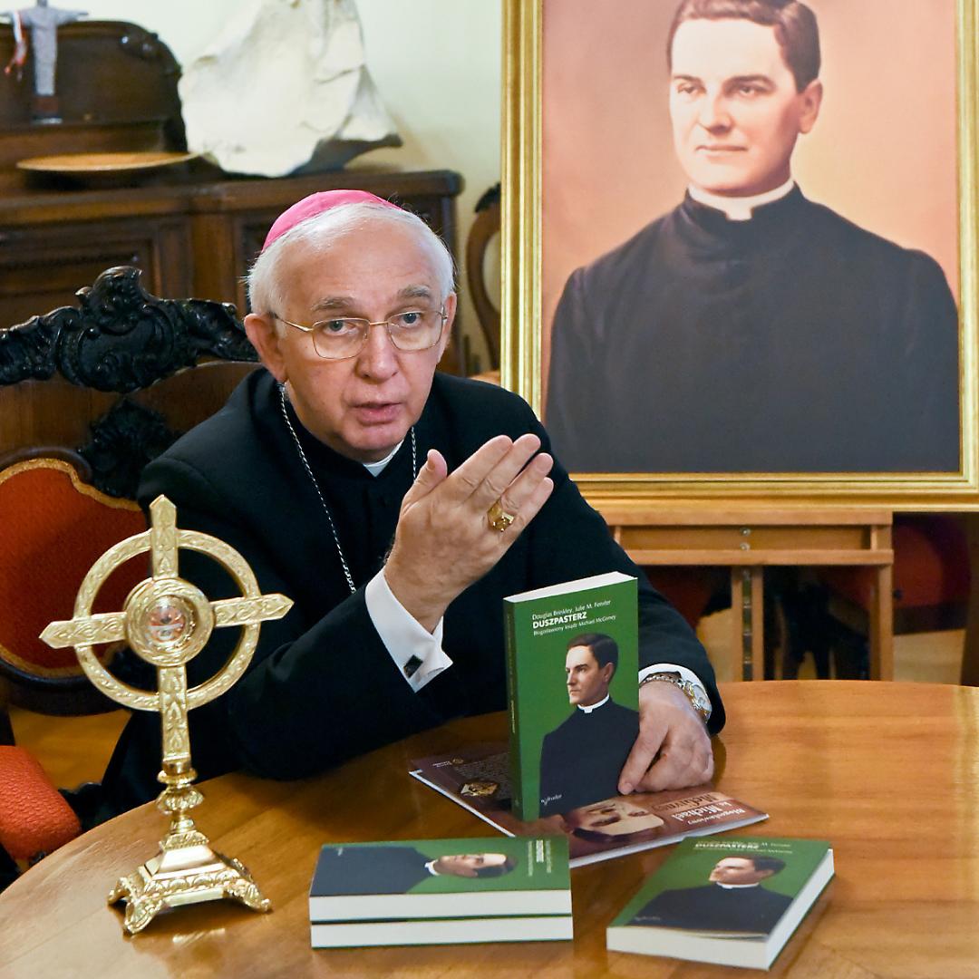 Relikwie bł. ks. McGivneya już w Polsce