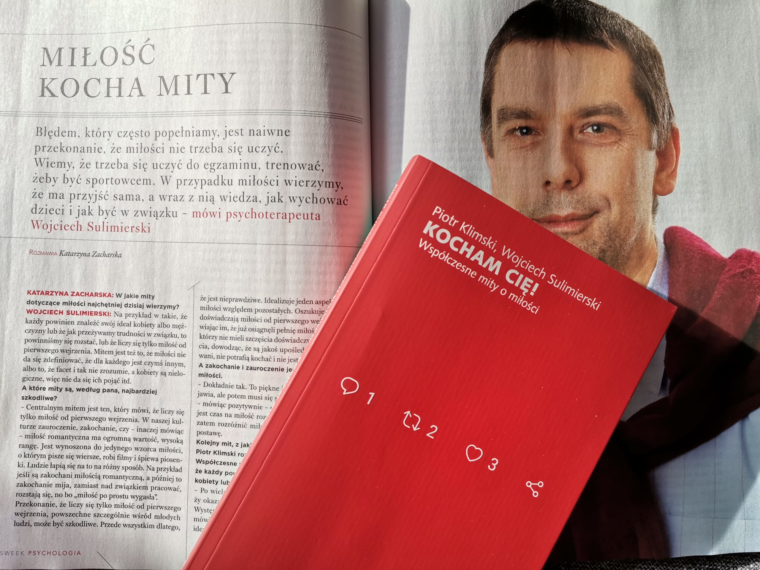 """Kocham Cię! w """"Newsweek Psychologia"""" (1/2021)"""