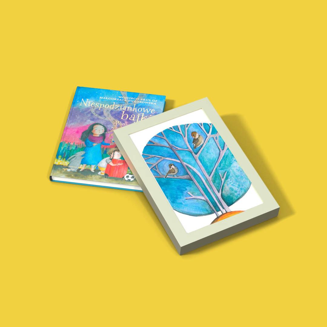 Niespodziankowe bajki. Wielkie prawdy w małych opowiastkach + ilustracja w ramce!