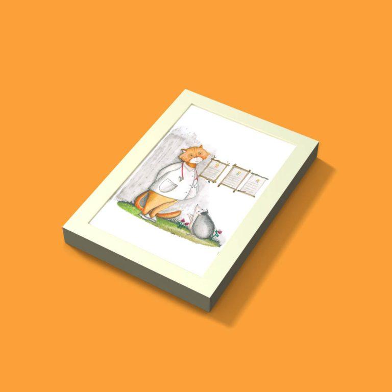 Ramka Ribba + ilustracja nr.10