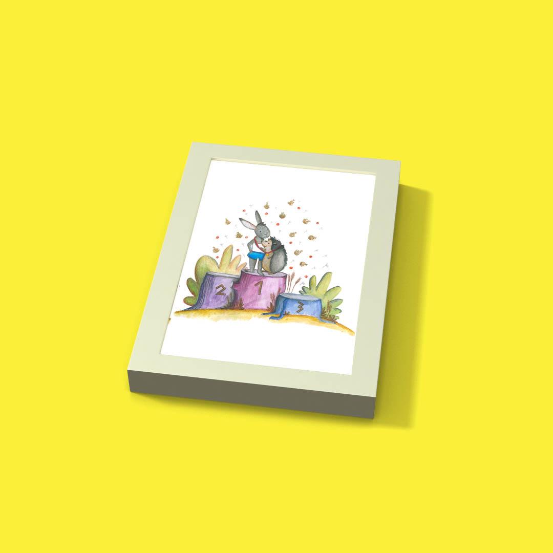 Ramka Ribba + ilustracja nr.12