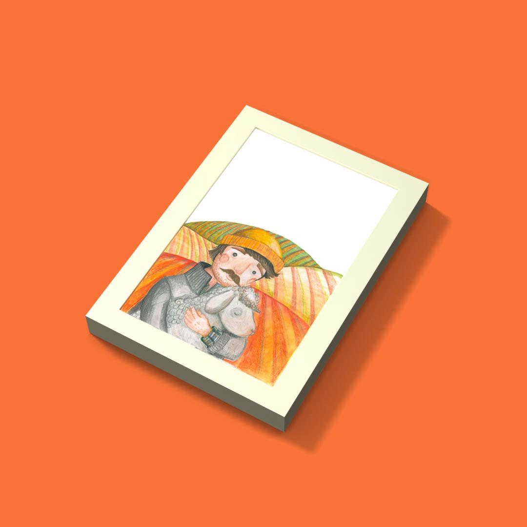 Ramka Ribba + ilustracja nr.8