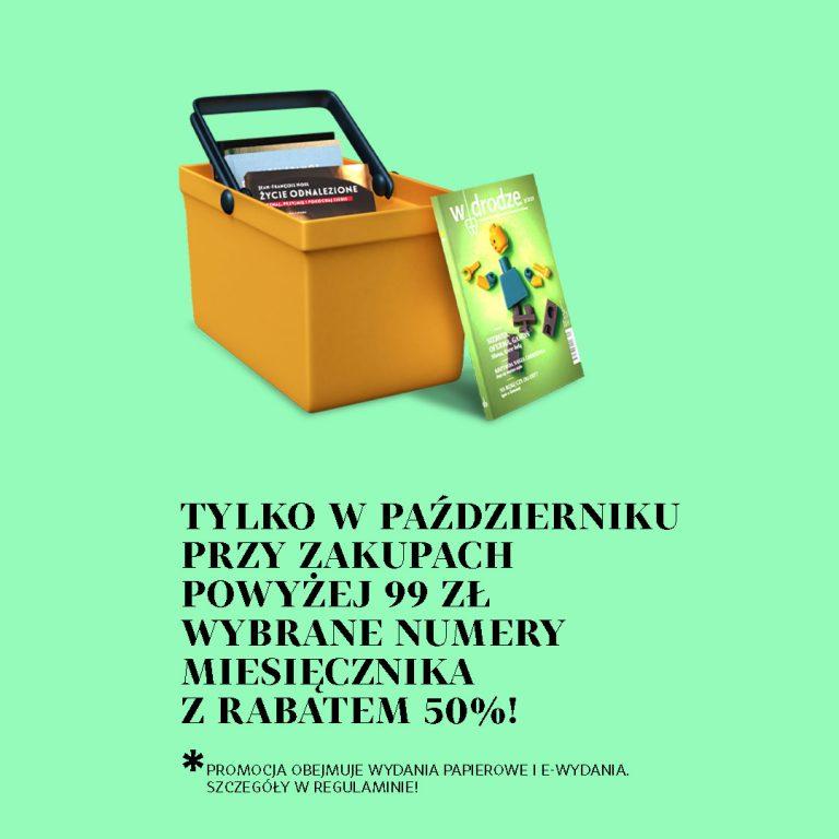 Październikowa promocja na zakupy powyżej 99 zł!